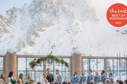 Blog image for Snowbasin Named Winner of the Knot Best of Wedding Venues for 2020