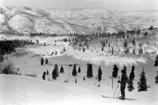 Top of City Hill in 1941
