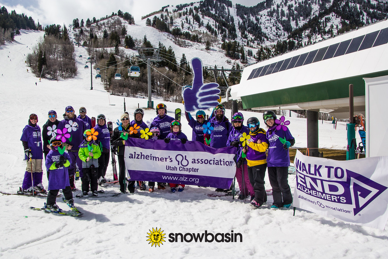 Snowbasin Resort partners with the Alzheimer's Association
