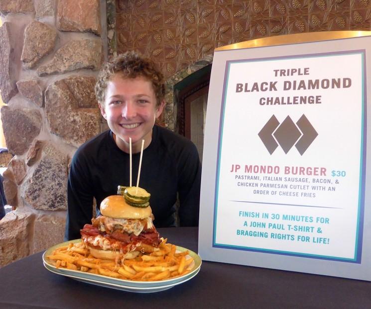 Kyle and the Mondo Burger