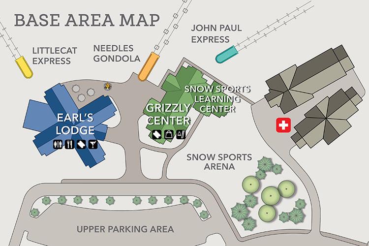 Base Area Map