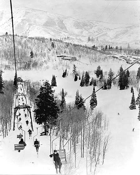 Wildcat Chairlift circa 1946
