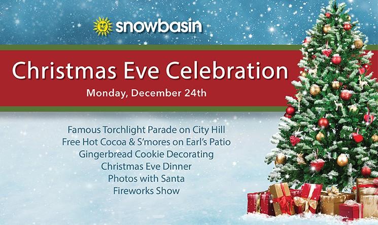 Christmas Eve Dinner Near Me.Christmas Eve Celebration Snowbasin