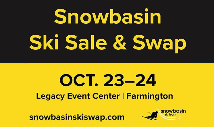 Snowbasin Ski Team Ski Swap landing page