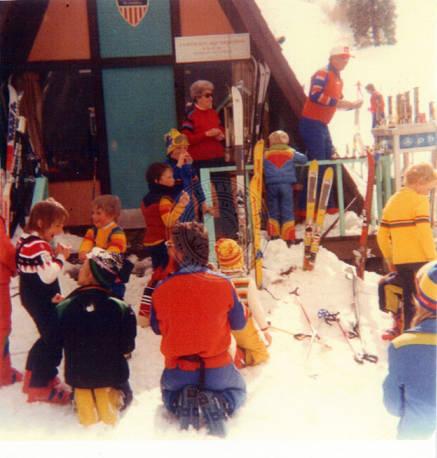 Earl Miller Ski School. Early 1980's