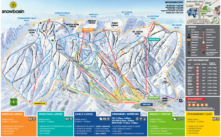Winter Trail Map 2018-2019