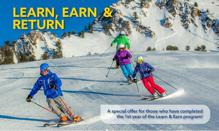Learn & Earn First Timer Package at Snowbasin Resort - YouTube