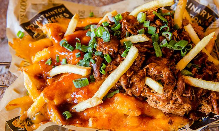 Loaded fries temporary header