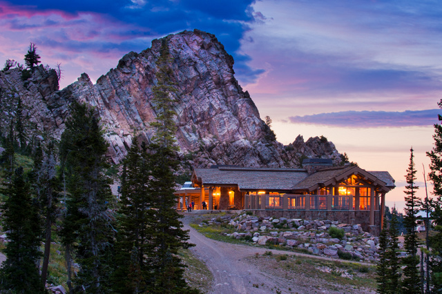 Needles Lodge at sunset | Photo Credit: Faceshots Photography